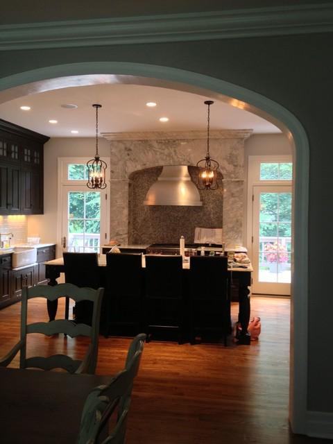 Irvington Kitchen traditional-kitchen