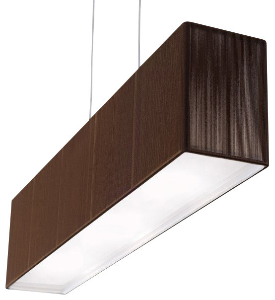Clavius Rectangular Pendant Light Modern Ceiling