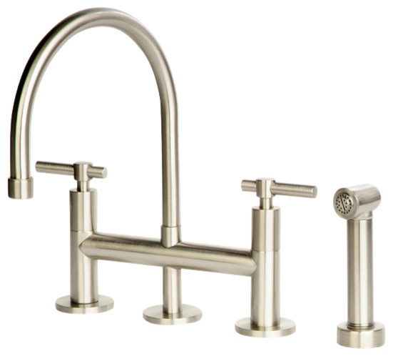Giagni Dolo Bridge Kitchen Faucet with Spray Kitchen