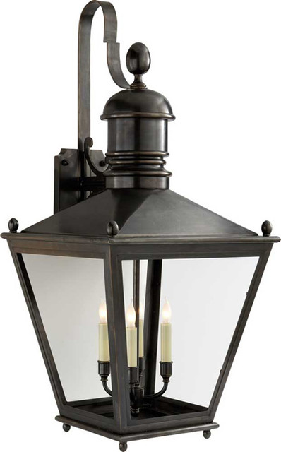 Large Sussex Bracket Lantern Traditional Outdoor Wall Lights And Sconces Other Metro By