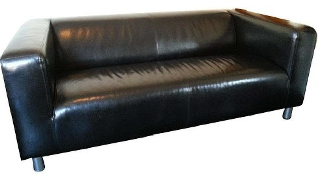 Ikea Klippan Leather Sofa Leather Faux Couches Chairs Ottomans