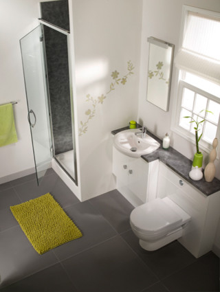 En Suite Bathroom By Ambiance Bain Modern Vanity Tops