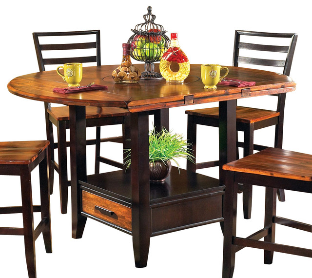 Steve Silver Abaco Drop Leaf Counter Height Table  : traditional dining tables from www.houzz.com size 640 x 570 jpeg 113kB
