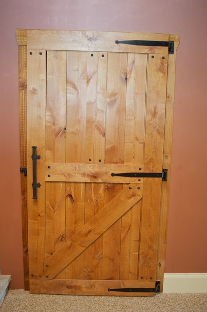Barn Style Door - Traditional - philadelphia - by Edmund Terrence, LLC