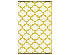 Tangier Rug, Celery and White contemporary rugs