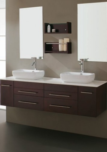 Virtu Augustine UM 3051 Double Vanity - modern - bathroom vanities ...