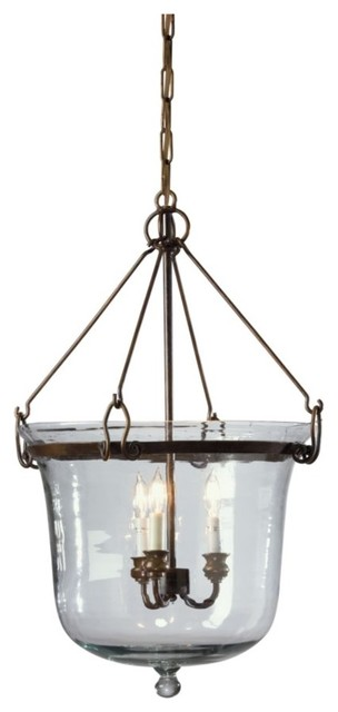 glass cloche chandelier traditional chandeliers