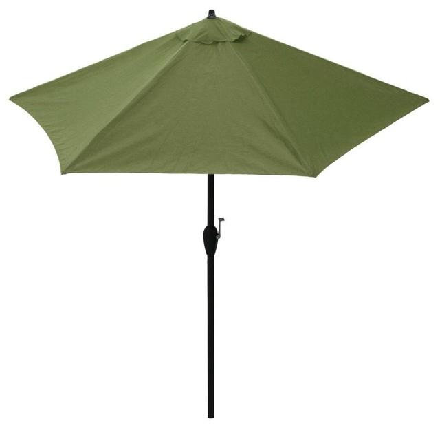 Hampton Bay Patio Umbrellas 9 ft Aluminum Patio Umbrella