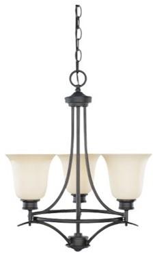 Montego 3 Light Chandelier modern-lighting