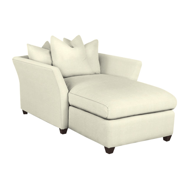 Klaussner Fifi Chaise Lounge traditional-indoor-chaise-lounge-chairs