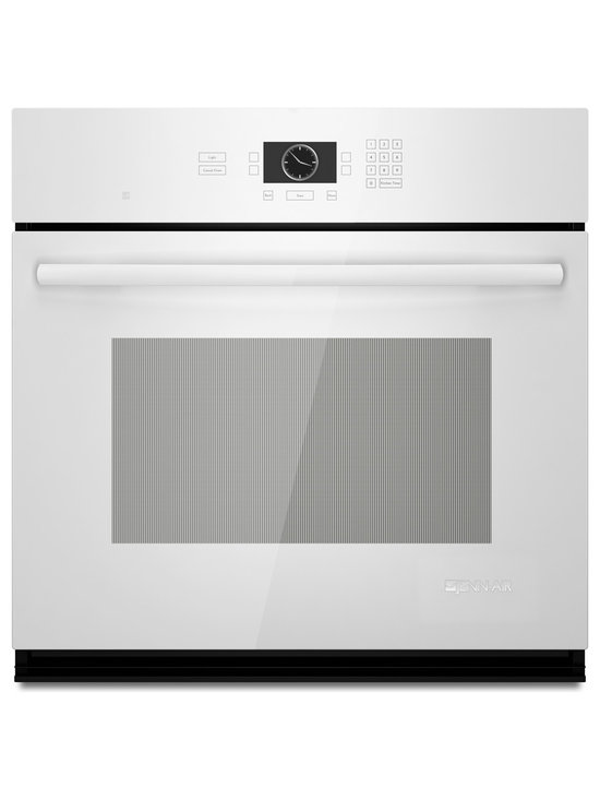 "Jenn-Air 30"" Single Electric Wall Oven, White On White 