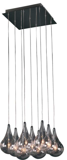 Lazio 9 Light Pendant modern-pendant-lighting