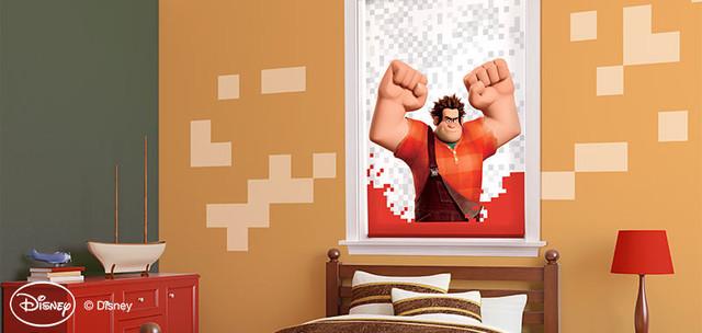 Disney Wreck it Ralph Window Shades contemporary-roller-blinds