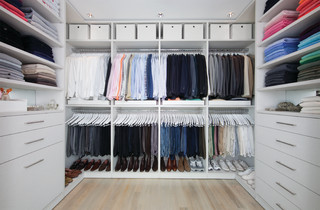 take control of your closets means cleaning out & organizing