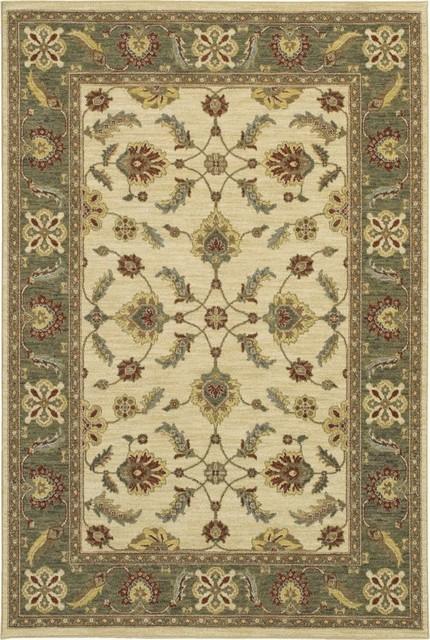 "Sierra Mar Sedona Ivory Limestone Oriental 2'5"" x 4' Karastan Rug (33009) traditional-rugs"
