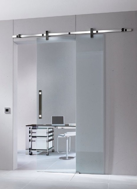 Contemporary Sliding Barn Door Hardware