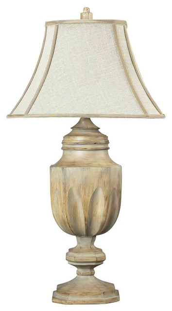 Dimond Lighting 93-9243 Lone Oak Bleached Wood Table Lamp contemporary-table-lamps