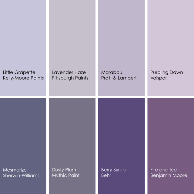Color feast when to use purple in the dining room - What colors go with purple ...