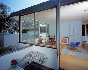 Bedroom from Balcony modern