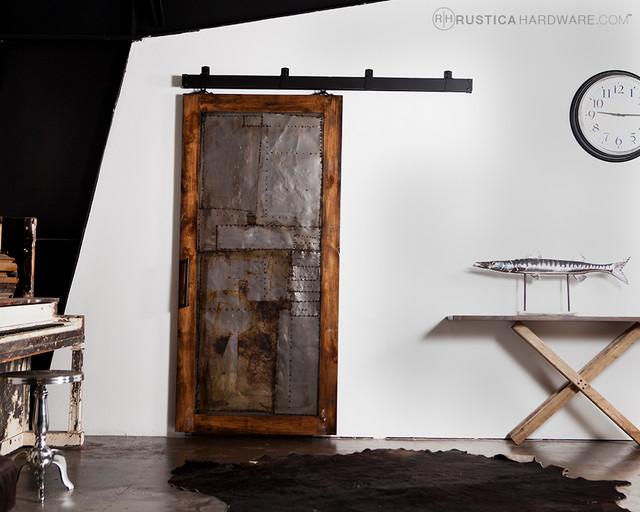 Steampunk Scrap Metal Door industrial