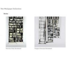 Deborah Bowness - Books wallpaper eclectic-wallpaper