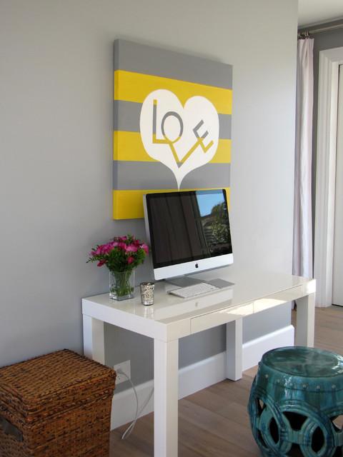 The Sandberg Home eclectic-bedroom