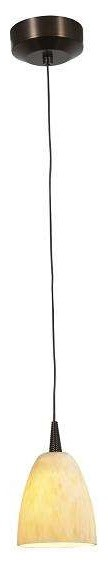 Access Lighting 94941LED-4-BRZ/AMM Tungsten Modern Mini Pendant With Cord modern-pendant-lighting