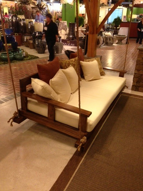 Rustic bedswing by southern komfort bedswings for Rustic outdoor furniture