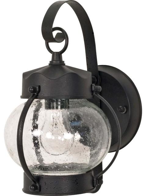 light textured black onion wall lantern contemporary outdoor lighting. Black Bedroom Furniture Sets. Home Design Ideas