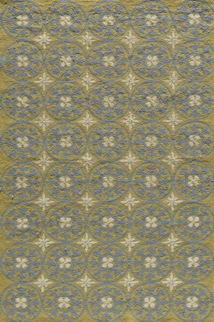 Momeni Veranda 2' x 3' Yellow Rug contemporary-rugs