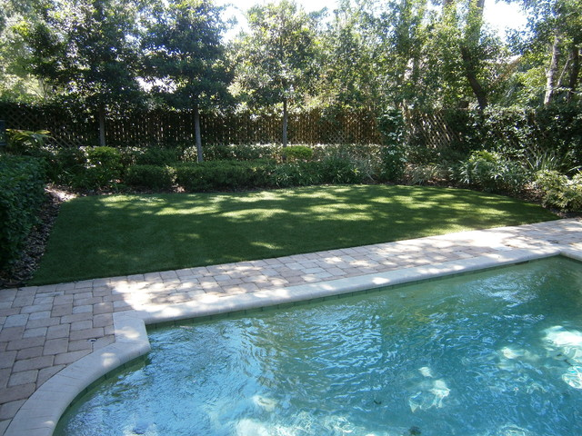 Residential Lawn -  Artificial Grass Pictures traditional-landscape
