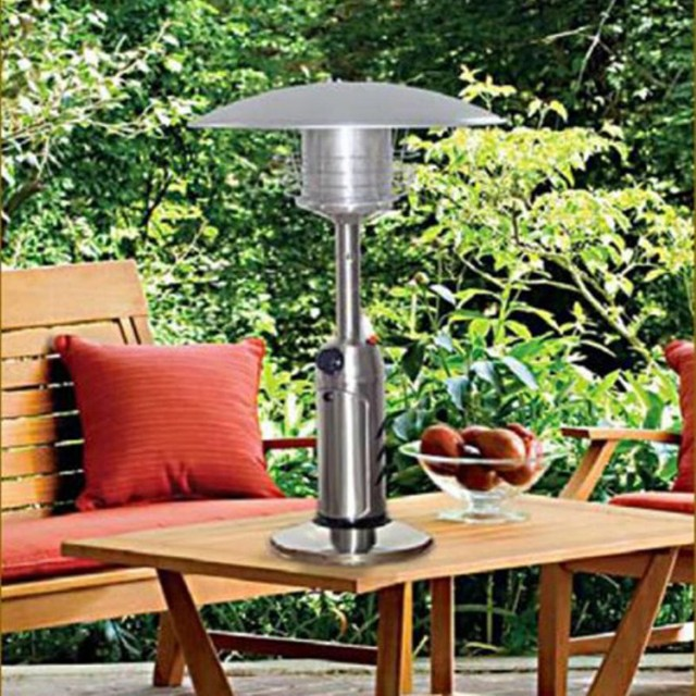 AZ Patio Heater Portable Stainless Steel Tabletop Heater Multicolor - HLDS032-B contemporary-outdoor-products