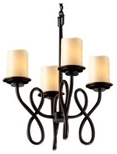 CandleAria Capellini Cylinder Chandelier contemporary-chandeliers