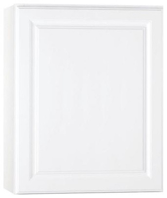 Hampton Bay 24x30x12 In Wall Cabinet In Satin White Kw2430 Sw Contemporary Kitchen