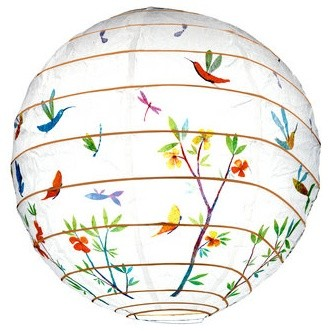 Djeco Spring Flowers Lantern contemporary-kids-lighting