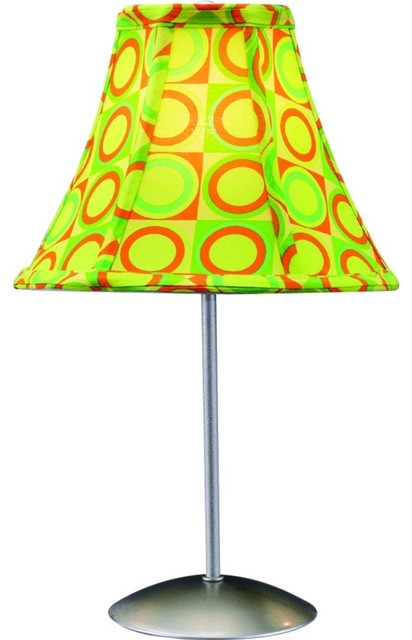 guacamole lime green retro accent table lamp contemporary table lamps. Black Bedroom Furniture Sets. Home Design Ideas