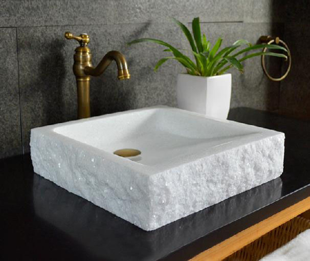 Stone Bowl Basin : Natural Stone Sinks, Wash basin, Bowls modern-bathroom-sinks
