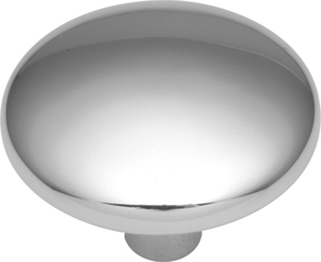 Sunnyside Polished Chrome Cabinet Knob traditional-cabinet-and-drawer-knobs