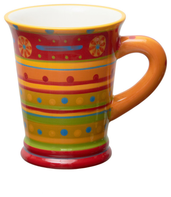 Brigitte Slimline Pottery Mug
