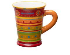 Brigitte Slimline Pottery Mug mediterranean-dinnerware