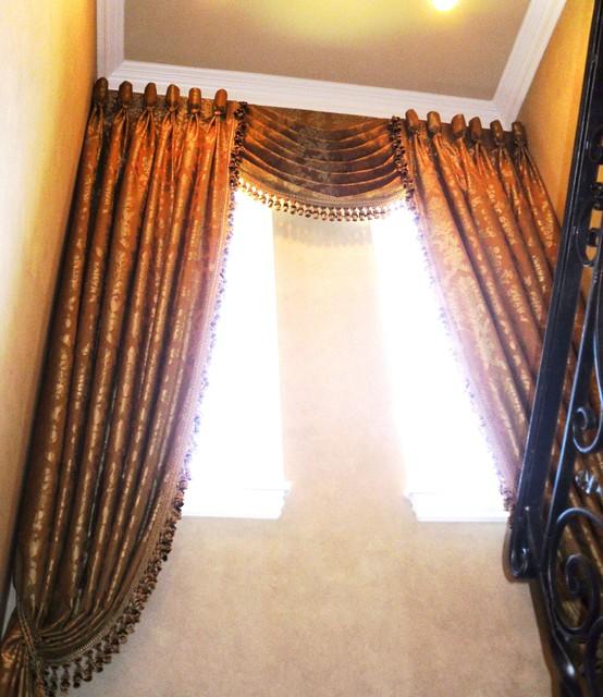 Draperies curtains