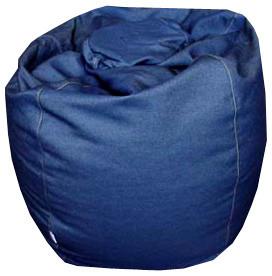 Denim Bean Bag from Blob eclectic-bean-bag-chairs