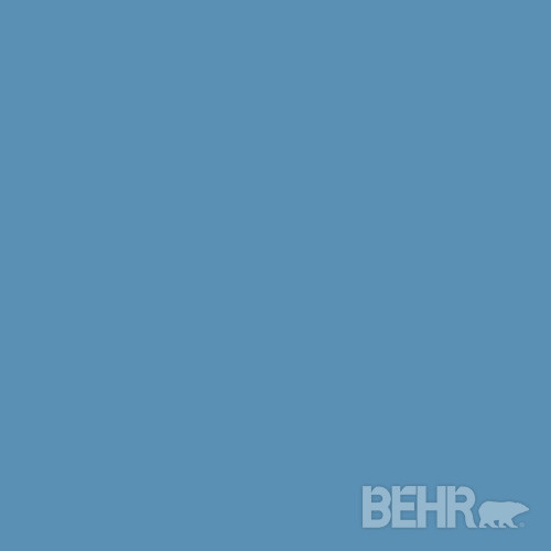 BEHR MARQUEE™ Paint Color Empire Blue MQ5-56 modern-paint