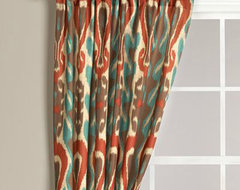 Diva Ikat Curtain eclectic-curtains
