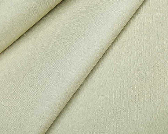 Organzine Italian Fabric in Wasabi - Organzine Italian Fabric in Wasabi is a neutral linen and silk blend with a solid color that works well for a variety of applications including upholstery, drapery, and pillows. Made in Italy from 50% linen and 50% silk. Width: 54″