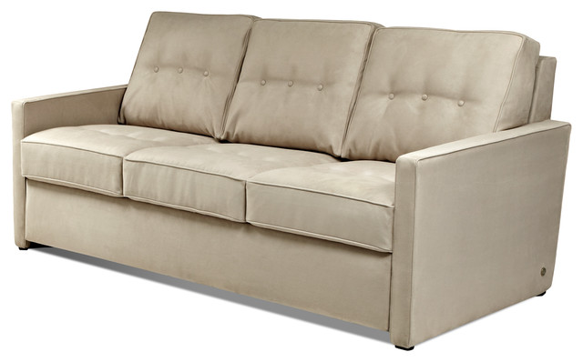 Nathan comfort sleeper by american leather transitional for Transitional sectional sofa sleeper