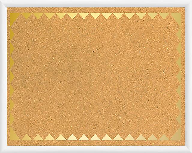 Triangular pattern cork board modern bulletin boards for Modern cork board