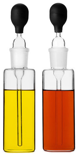 Oil and Vinegar Pipettes modern food containers and storage
