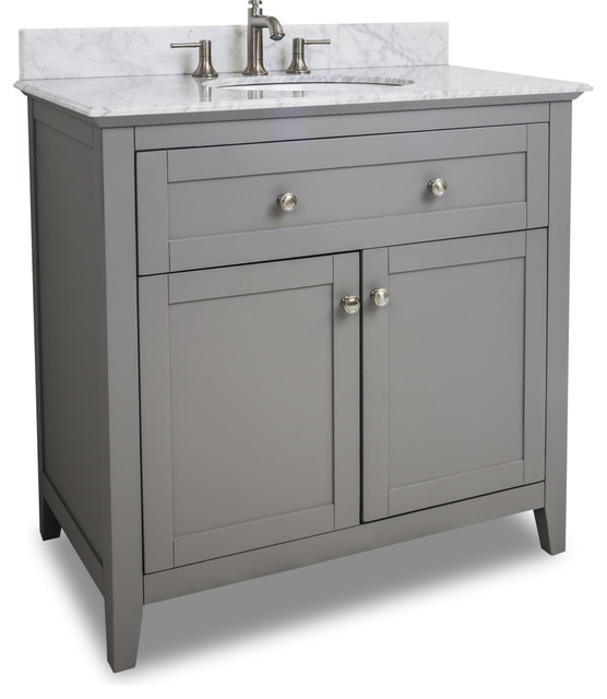 Bathroom Vanity With Bowl On Top : Vanity With Top and Bowl - Traditional - Bathroom Vanities And Sink ...