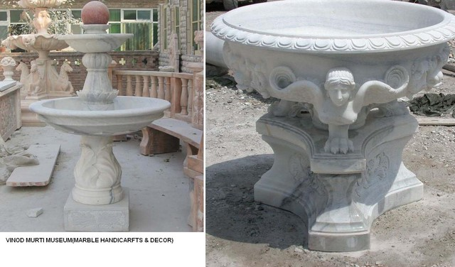 Marble Fountains - modern - outdoor fountains - - by Marble ...